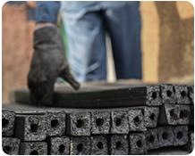آموزش تولید ذغال فشرده