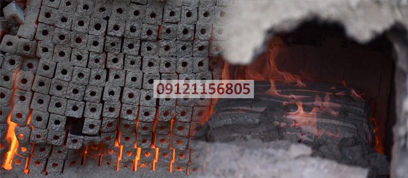 خط تولید زغال فشرده در قشم