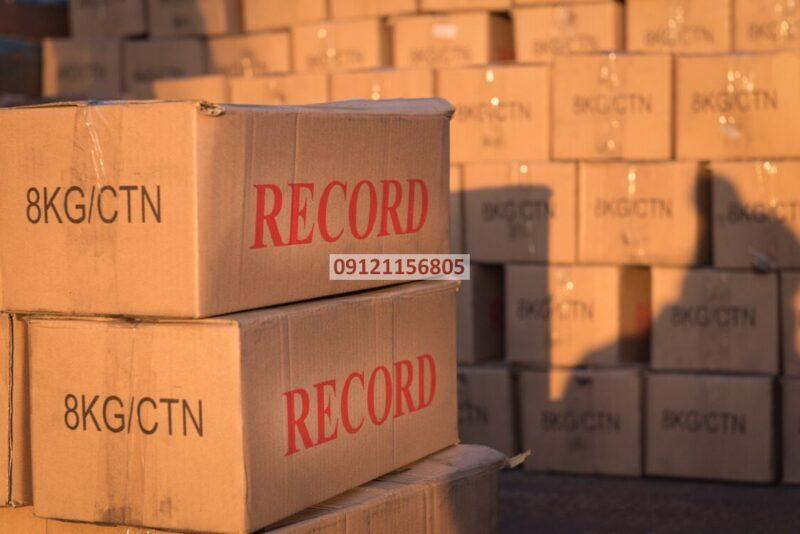 زغال چینی رکورد