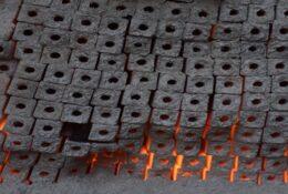 خط تولید زغال فشرده در قصرشیرین