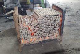 راه اندازی خط تولید زغال فشرده در گیلانغرب